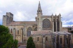 Basílica de Saint-Nazaire en la Ciudadela de Carcassonne