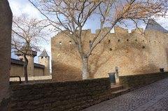 Calles de la Ciudadela de Carcassonne, Francia