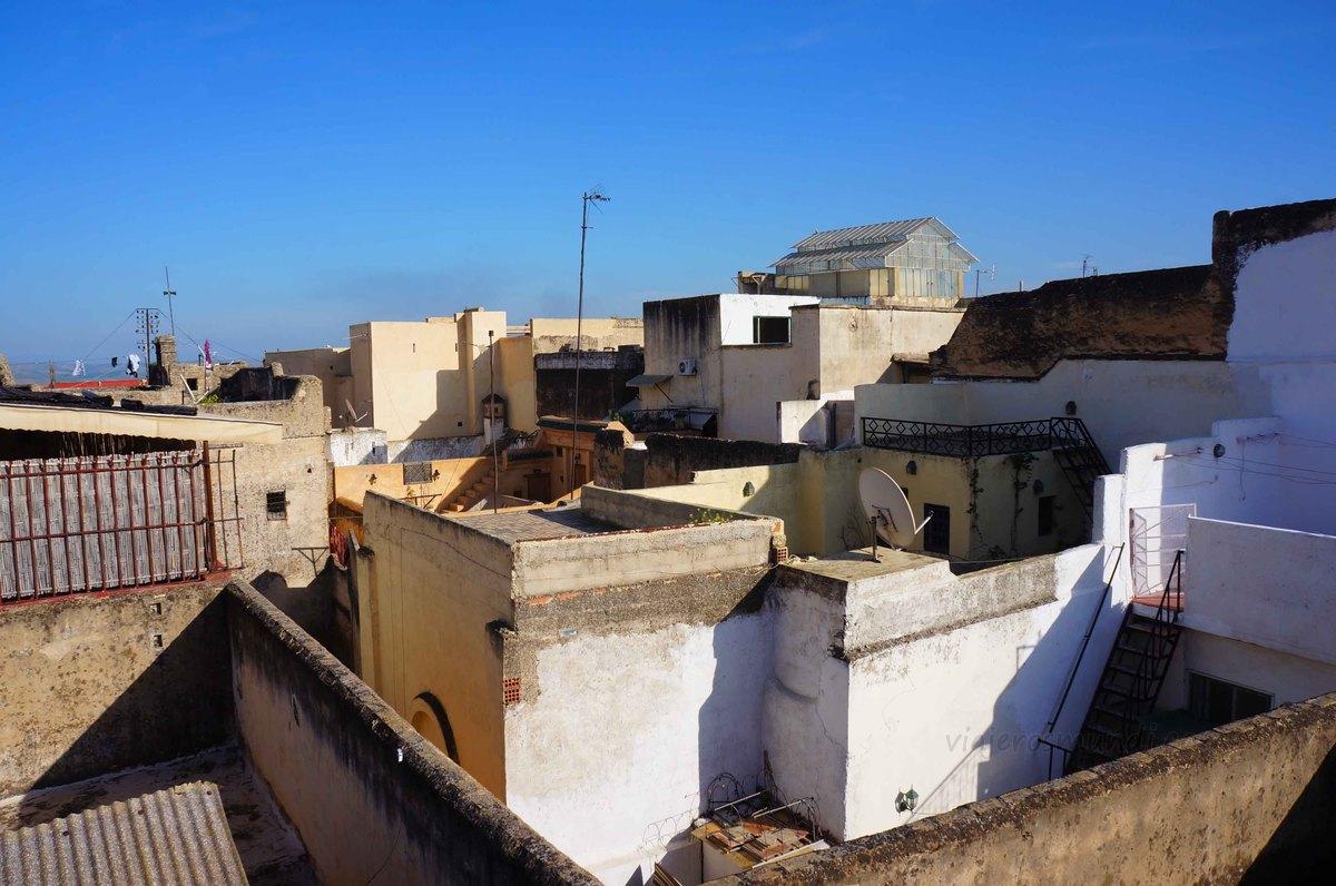 Vista desde mi Riad en Fez