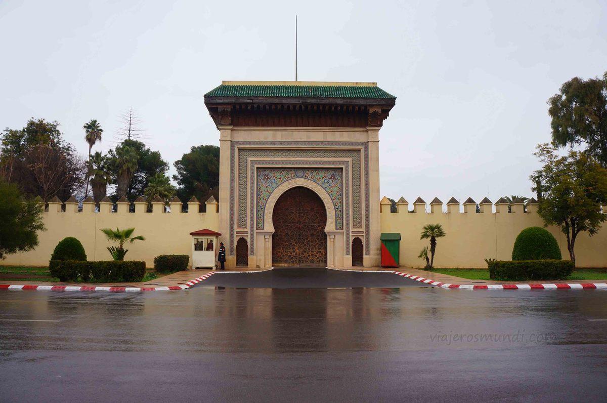 Antiguo palacio de Fez, Marruecos