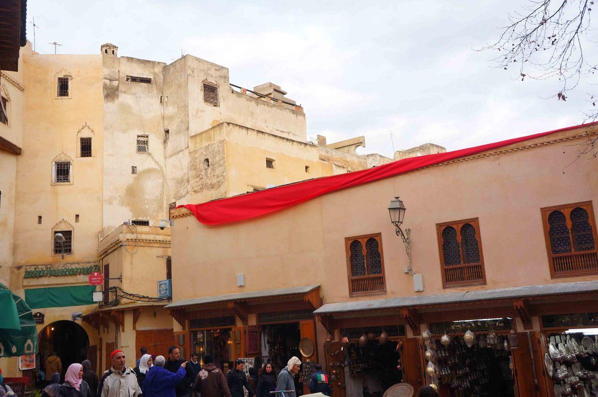 Paisajes de la medina de Fez, Marruecos