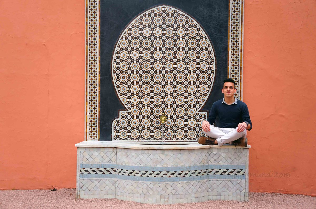 Fuente del Hotel La Mamounia, Marrakech