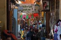 Souks en Fez, Marruecos
