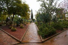 Jardín Jnan Sbil en Fez, Marruecos