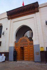 Mezquita en la medina de Fez, Marruecos