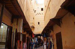 Calles de la medina de Fez, Marruecos