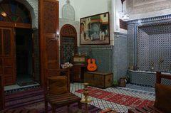 Riad Dar Hozor en la medina de Fez, Marruecos