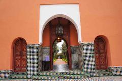 Entrada al hotel La Mamounia, Marrakech