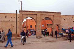 Entrada a la medina de Marrakech