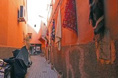 Souks de la medina de Marrakech
