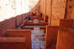 Ruinas del Palacio El Badi, Marrakech
