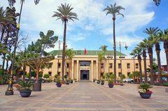 Palacio de gobierno de Marrakech