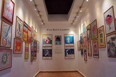 Exposición de Yves Saint Laurent y Jacques Majorelle, Marrakech