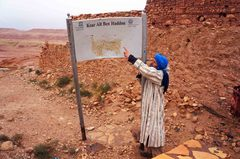 Entrada al Ksar de Ait Ben Haddou, Marruecos