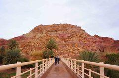 Puente del Ksar de Ait Ben Haddou, Marruecos