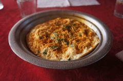 Omelette bereber en Marruecos