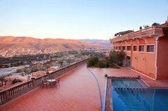 Pueblo de Zagoria en Marruecos desde mi hotel