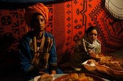 La cena en medio del Sahara, Marruecos