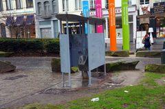 Un baño público en Bruselas