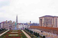 Bruselas desde el Mont des Arts