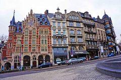 Calle del centro de Bruselas