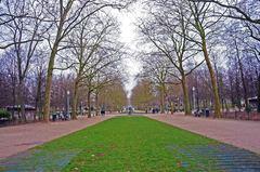 Jardines reales de Bruselas