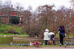 Parque Leopoldo en Bruselas