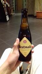 Cerveza Westmalle en Bruselas
