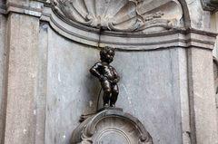 """""""El niño que orina"""" en Bruselas"""
