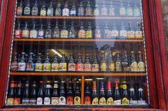 Boutique de cervezas belgas en Gante