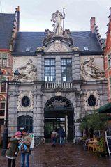 Edificios del centro histórico de Gante