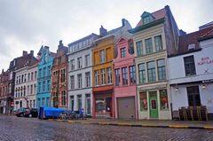Calles del Centro histórico de Gante