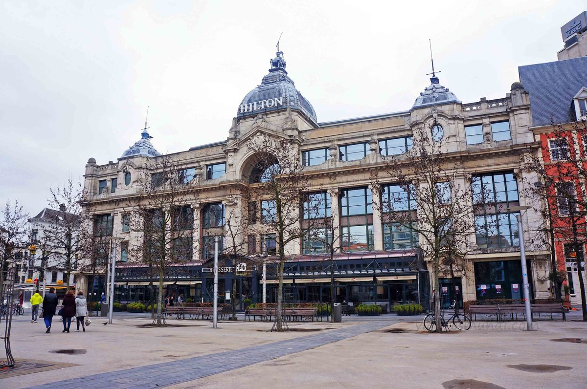 Hotel Hilton en Amberes