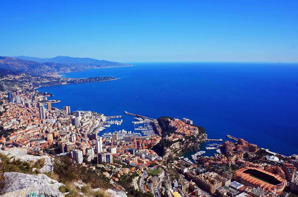 Vista de Mónaco desde lo alto