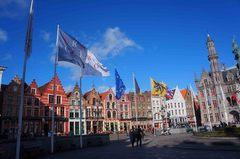 Plaza del mercado de Brujas