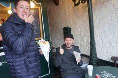 Papas fritas belgas en Amberes