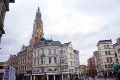 Plaza del mercado de Amberes