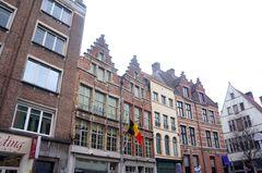 Calles del centro de Amberes