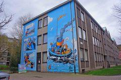 Murales en Kloosterstraat, Amberes