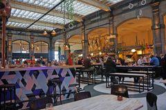Mercado gourmet en Amberes