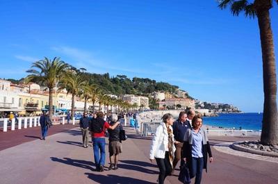 Paseo de los ingleses en Niza