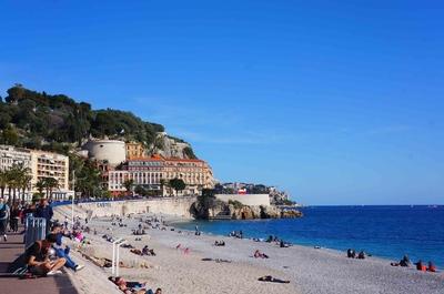 Playas de Niza y el monte Bobon
