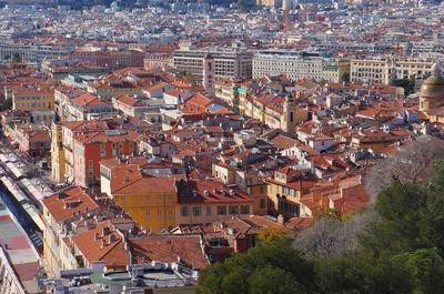 Vista de Niza desde el monte Bobon