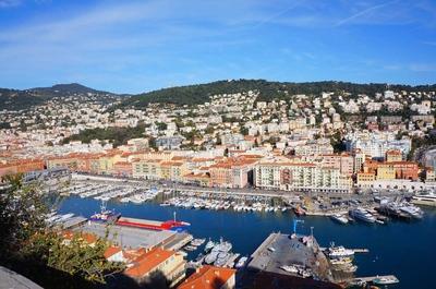 Antiguo puerto de Niza
