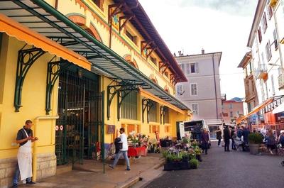Mercado de Menton, Francia