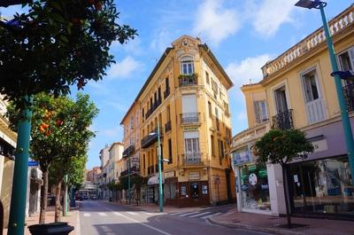 Calles de Menton, Francia