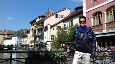 Calles y canales de Annecy