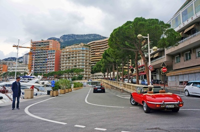 Malecón del Puerto de Mónaco