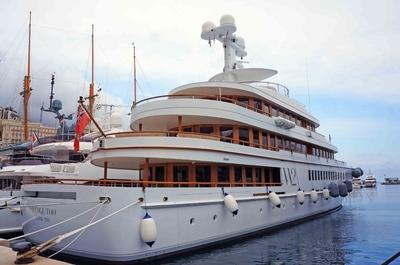 Yates en el puerto de Mónaco