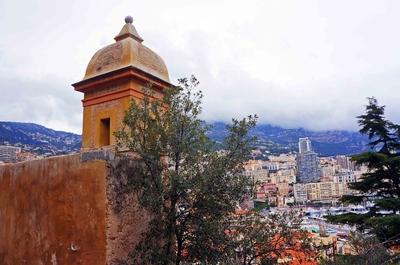 Antigua fortaleza de Mónaco